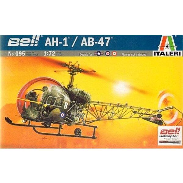 Bell AH-1/AB-47 Lightcopter Abziehbilder: Italienischer USAF RAF