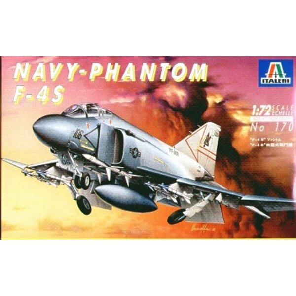 F-4S Phantom II. Abziehbilder für VF-301 USN Reserve Mrz 1983 von Mira und VMFA-232 USMC 1987