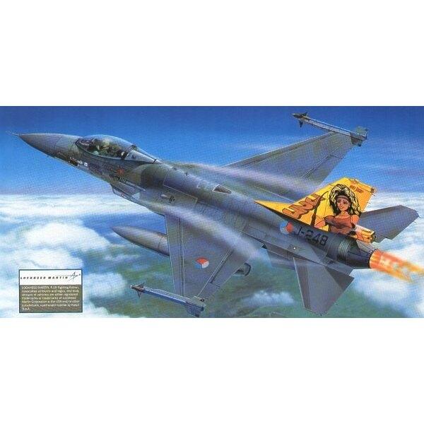 General Dynamics F-16A/General Dynamics F-16B Fighting Falcon. Beinhaltet Abziehbilder für die Luftwaffe von Texas ANG Belgium 5