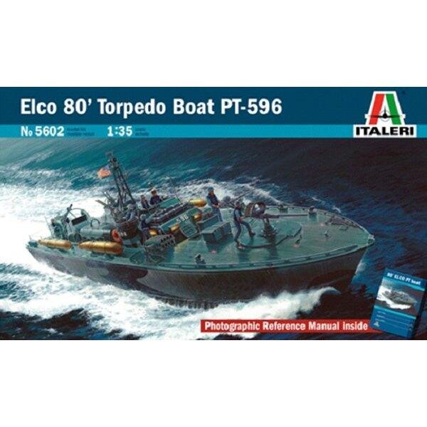 Beschränkte Neuauflage. Elco 80' Torpedo-Boot