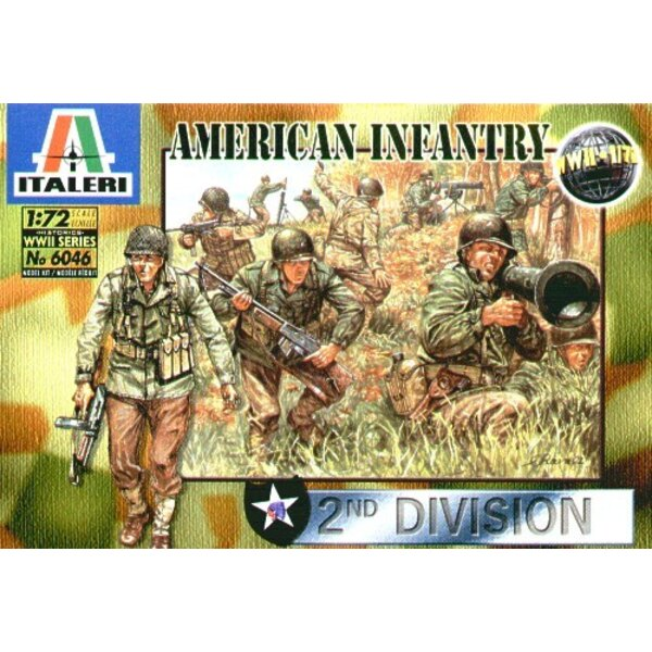 Amerikanische Infanterie aus dem 2.WK