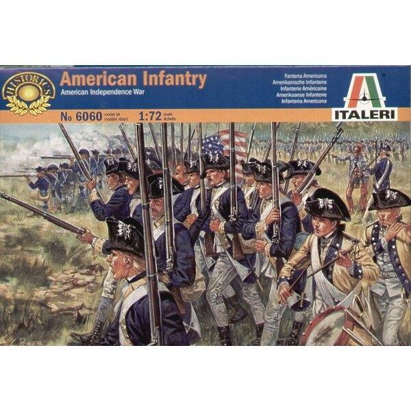 Amerikanische Independnce amerikanische Kriegsinfanterie
