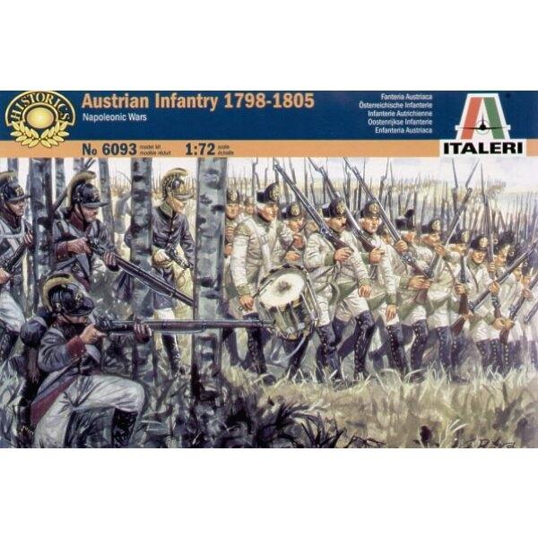 Napoleonische Kriege - Österreichische Infanterie 1800-05