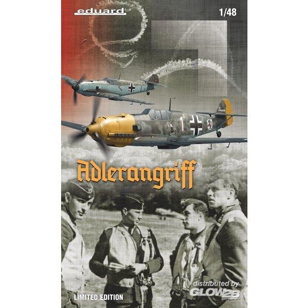 ADLERANGRIFF Messerschmitt Bf 109E,(Dual Combo) Limitierte Auflage in 1:48