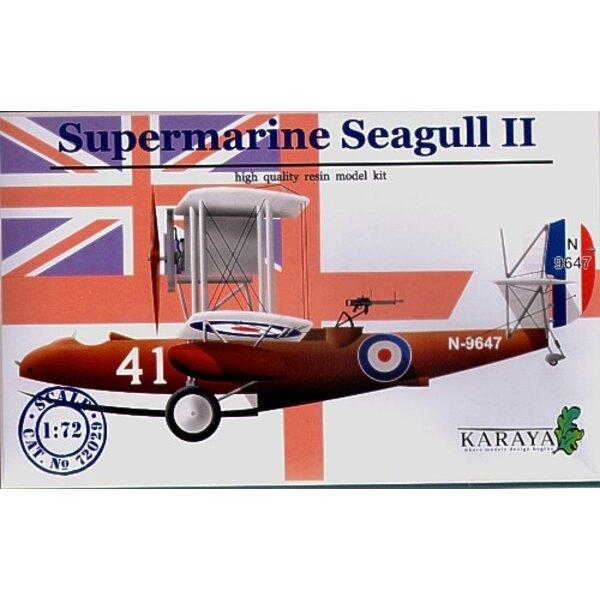 Supermarine Seagull II mit Abziehbildern und geätzt