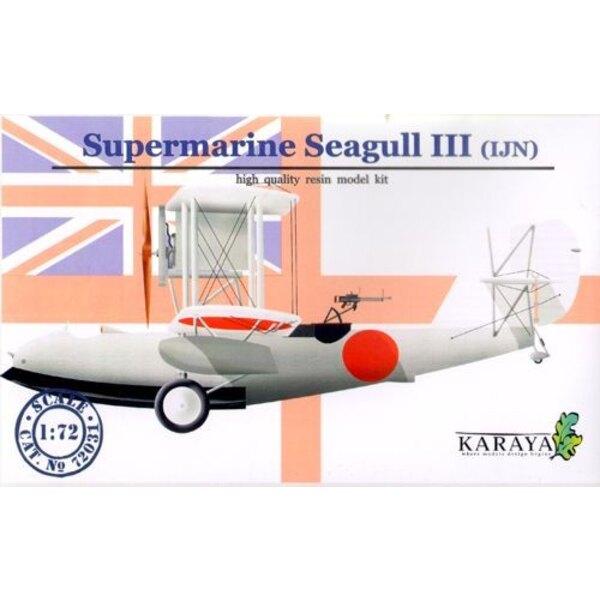 Supermarine Seagull II japanische Marine mit Abziehbildern und geätzt