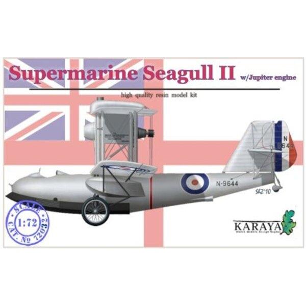 Motor von Supermarine Seagull III mit Jupiter mit Abziehbildern und geätzt