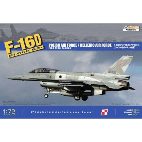 Lockheed Martin F-16 D Block 52 + (hellenischer (griechischer) AF und polnischer AF)