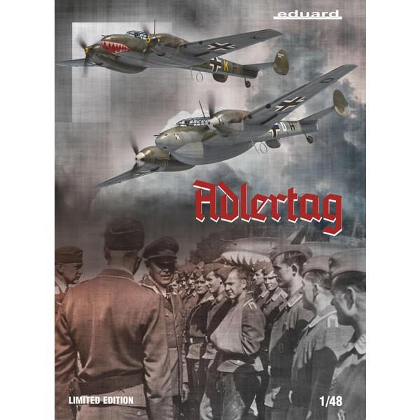 MESSERSCHMITT Bf110 C/D ADLERTAG, limitierte Auflage 1/48