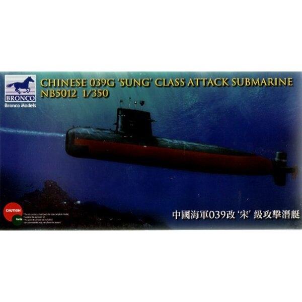 Chinesischer 039G 'Gesungenes' Klasse Angriffsunterseeboot