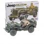 Willys MB J eep mit Fahrer & den Abziehbildern für 5 Versionen