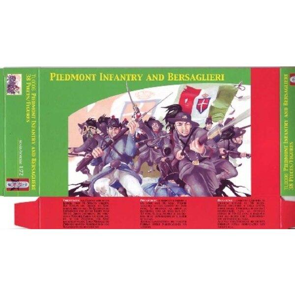 Piedmontinfanterie und Bersaglieri