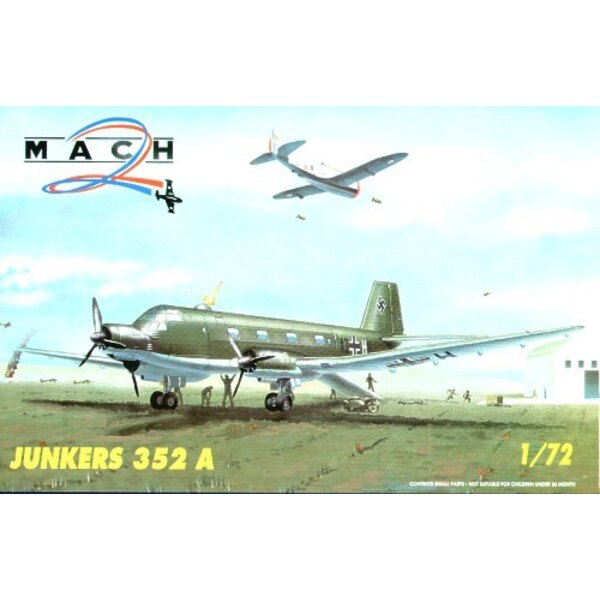 Junkers Ju 352A 3 engined transportiert Flugzeug