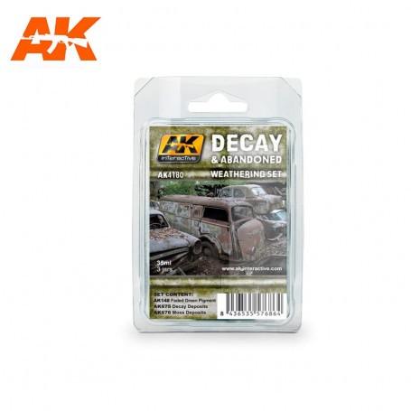 DECAY & ABANDONED WEATHERING SET AK Interactive AK-AK4180