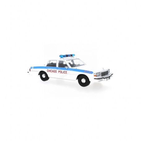 """CHEVROLET CAPRICE """"CHICAGO POLICE DEPARTMENT"""" 1987 MODEL CAR GROUP MCG18219"""