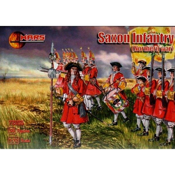 Nördliche sächsische Kriegsinfanterie 56 Figuren