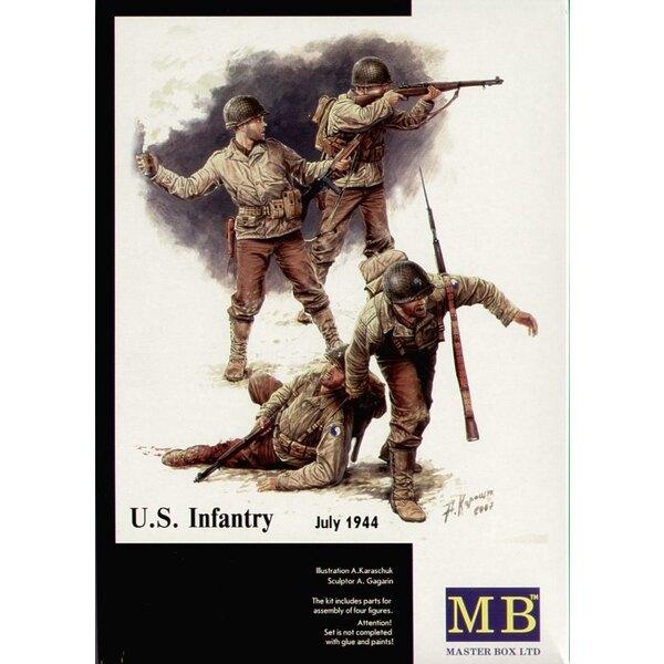 Amerikanische Infanterie 1944