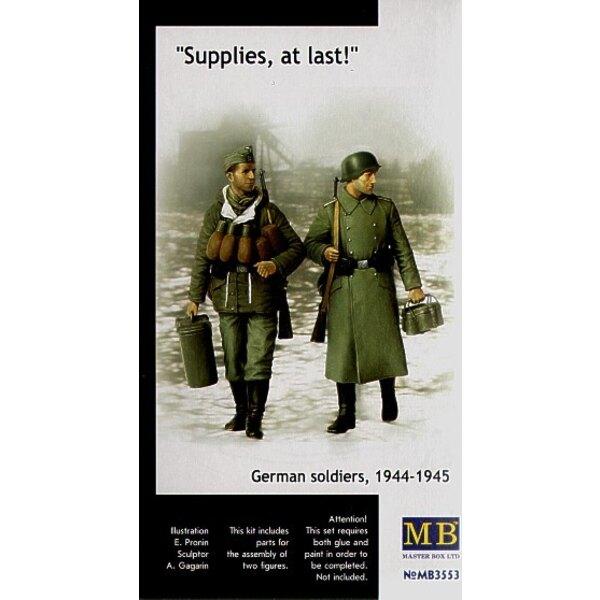 Bedarf schließlich! Deutsche Soldaten 1944-45