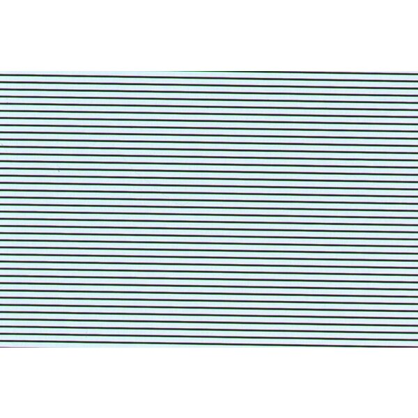 1:32 Black Parallel Stripes