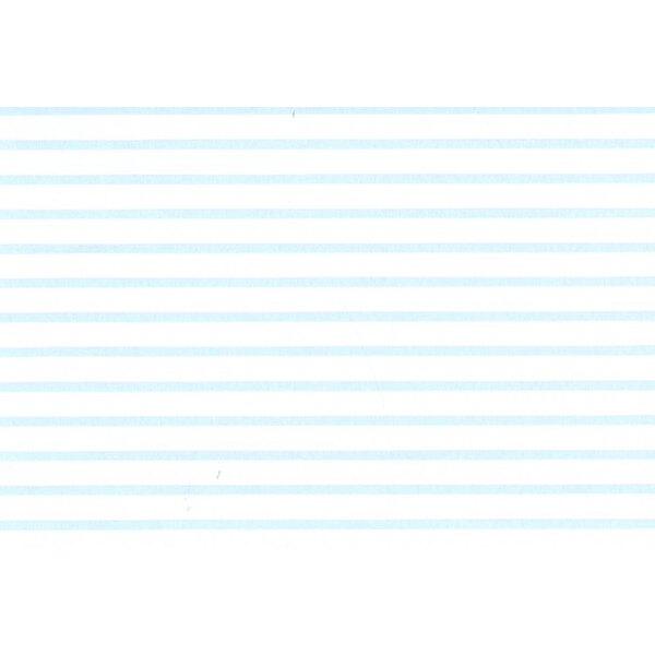 1:4 Parallel Stripes White