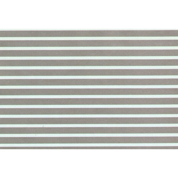 1:4' Silver Parallel Stripes