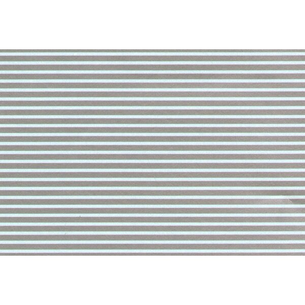 1:8' Silver Parallel Stripes