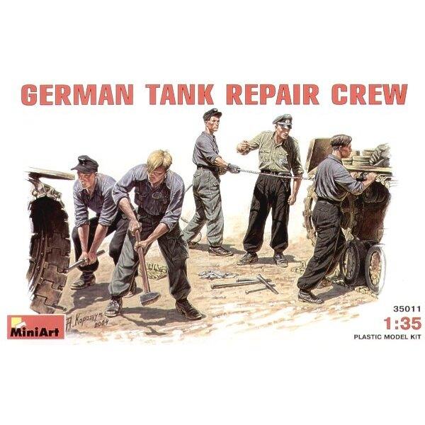 Deutsche Panzer-Reparatur-Besatzung