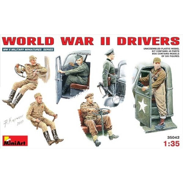 Sowjetische Fahrer mit Fahrzeugzusätzen