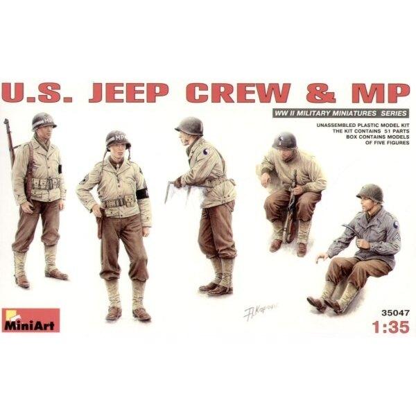 Besatzung von US Jeep