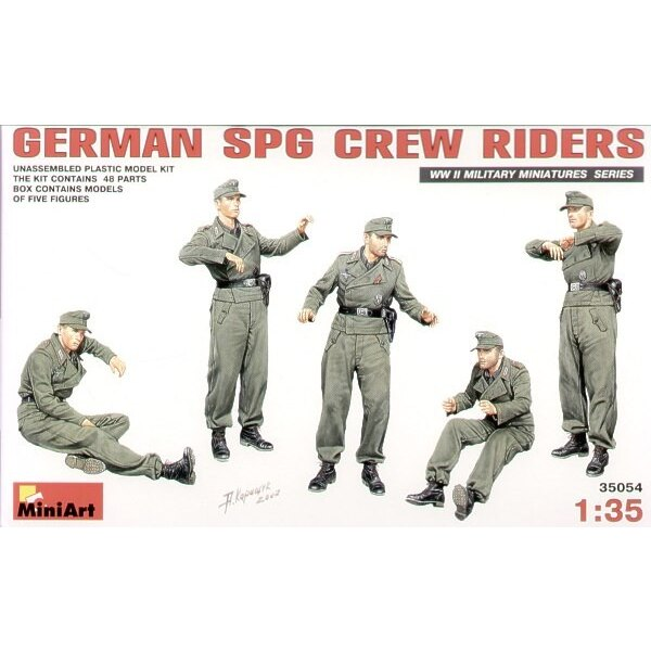 Deutsche SPG Besatzung-Reiter