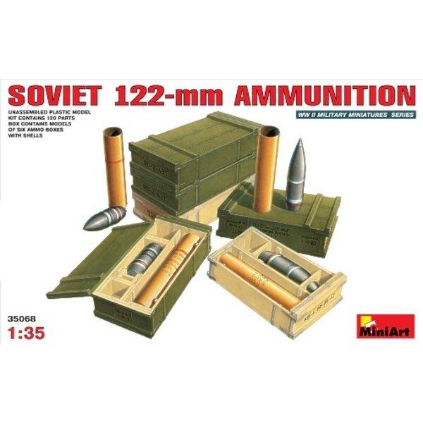 Sowjetische 122-Mm-Munition