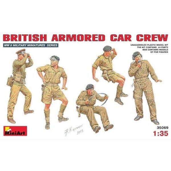Britische Gepanzerte Automannschaft x 5