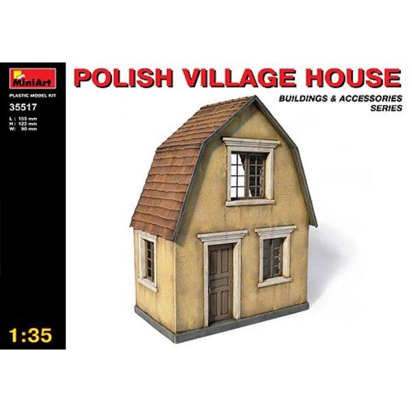 Polnisches Dorfhaus