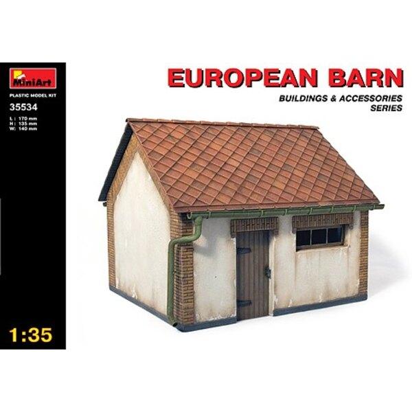 Europäische Scheune (ganzes Gebäude)