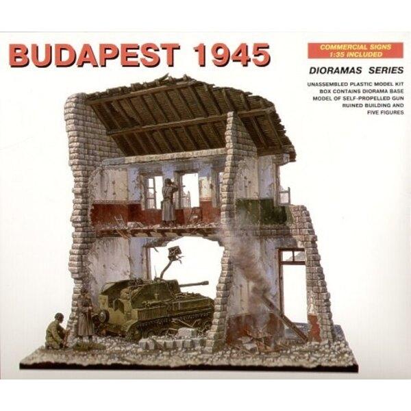 Budapest 1945 (Gebäude, SU-76 und Figuren)