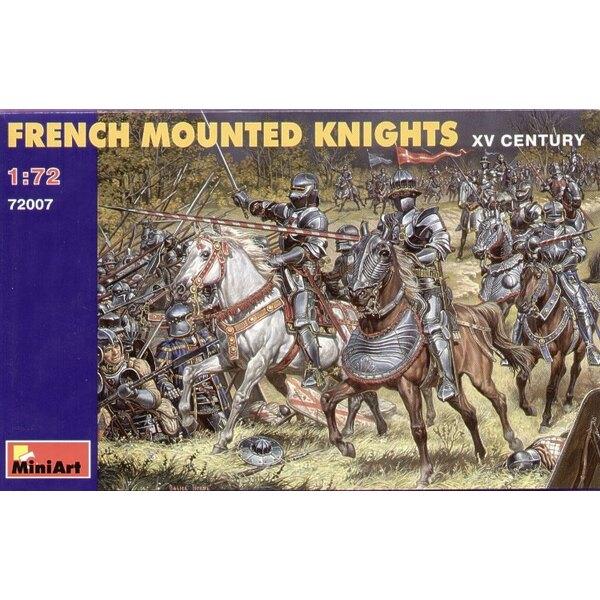 Französische Ritter zu Pferde, aus dem 15. Jahrhundert
