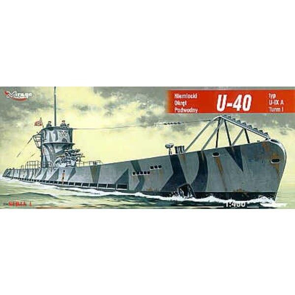U-Bootstyp U-40 IXA (Unterseeboote)