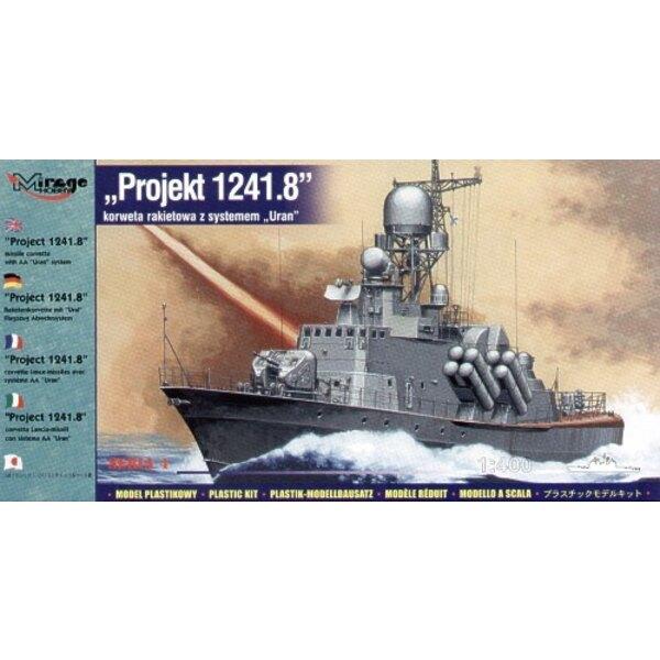 Projekt 1241.8 Missile Korvette mit AA URAN System