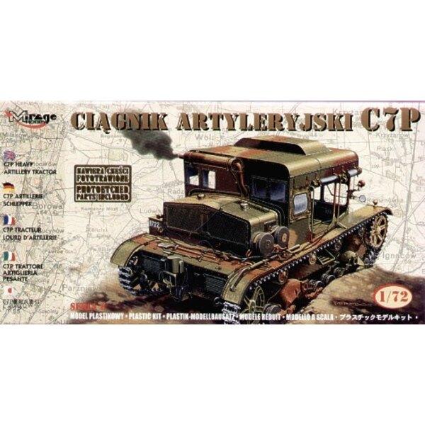 C7P Schwerer Artillerie-Traktor mit Fotoätzteilenen