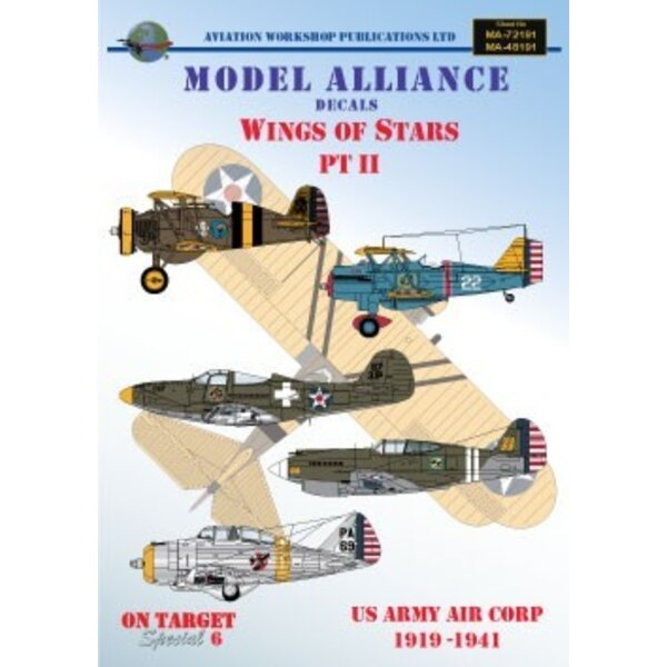 Wings Of Stars Pt 2 (6) Nieuport 28 6507 213th Aero Sqn Florida 1919 Curtiss P-6E Hawk 22 33rd PS Virginia Beach 1934 Boeing P-1