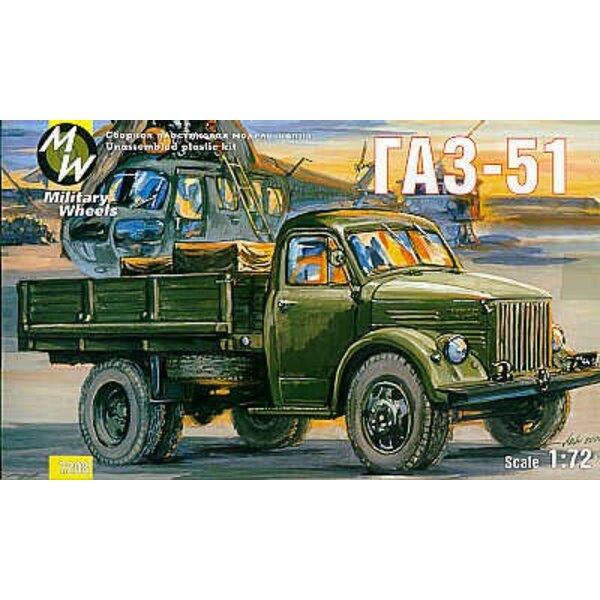 GAZ-51 Russisch-Lastwagen