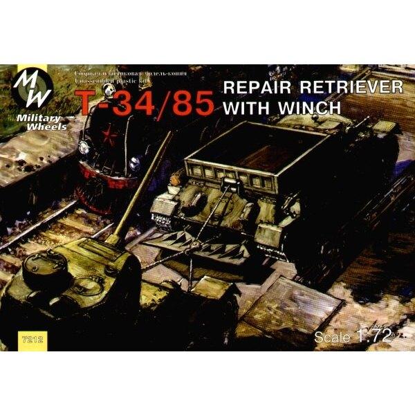 T-34/85 reparierungs Traktor mit Winde