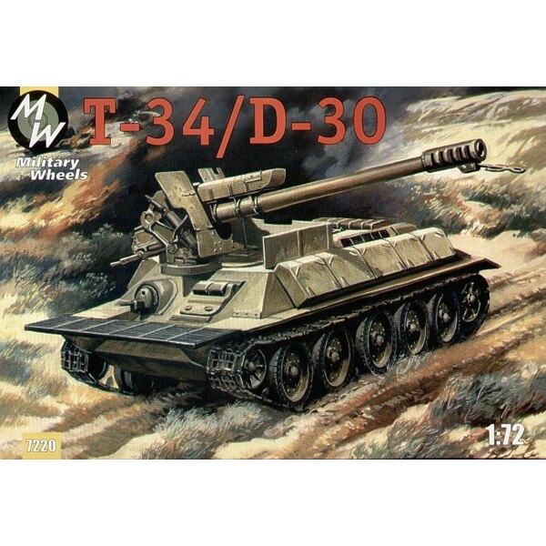 T-34/d30. Während des arabisch-israelischen Krieges stattete die syrische Armee etwas davon wiederaus es ist T34/85 in selbst an
