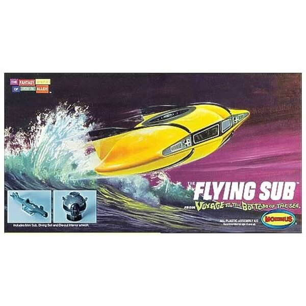 Voyage To The Bottom Of The Sea The Mini Flying Sub