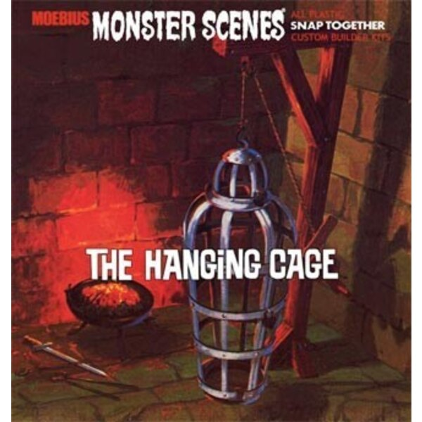 Monster Scenes The Hanging Cage (snap together)