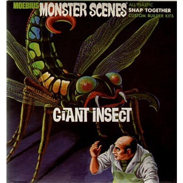 Giant Insect Monster Scenes