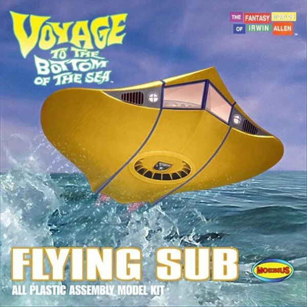 Voyage To The Bottom Of The Sea The Flying Sub