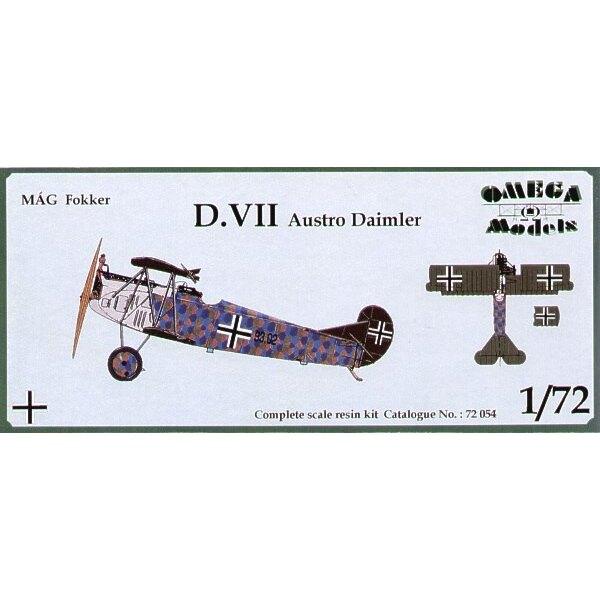Fokker D.VII mit Austro-Daimler Motor