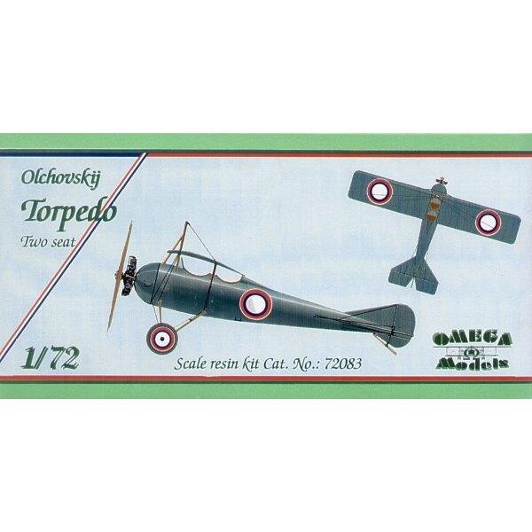 Olchovskij Zwilling setzt Torpedo-Flugzeug mit gekrümmten Ruder