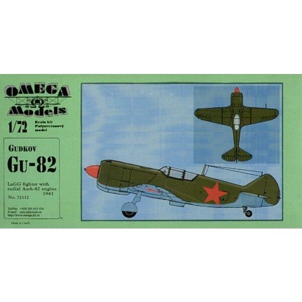 Gudkov Gu-82 (LaGG-3 mit radialen Asch-82 Motor)